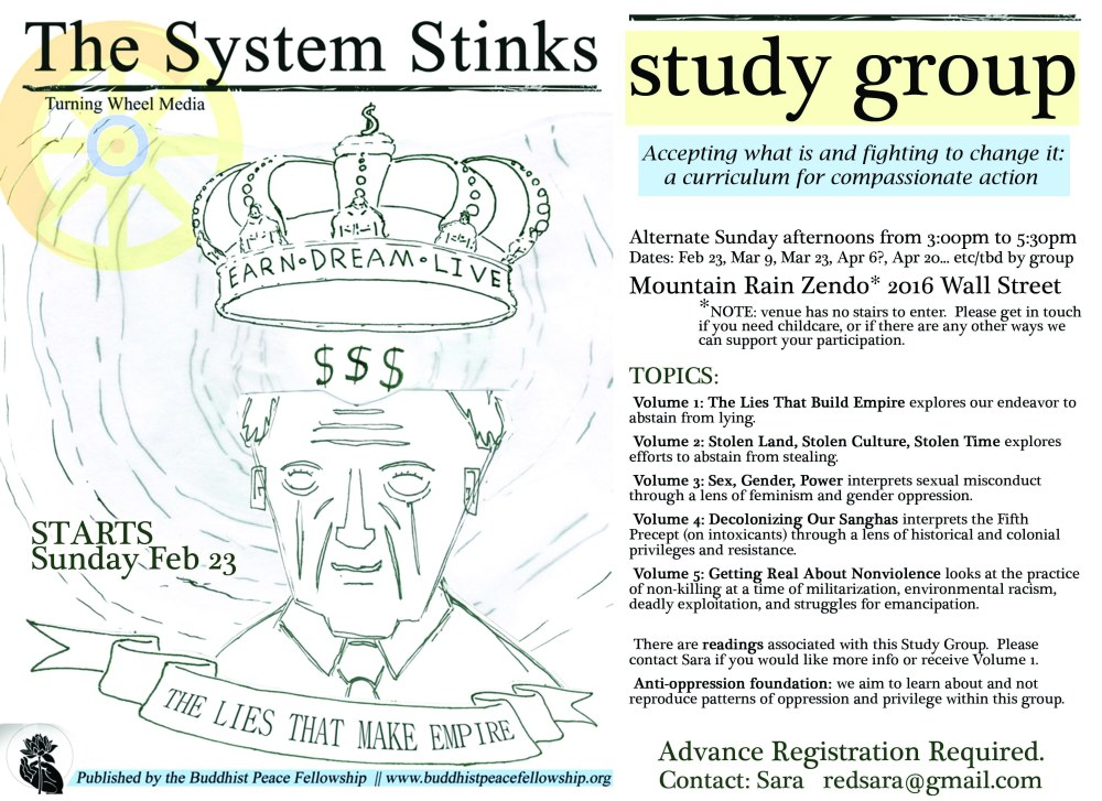 the System Stinks poster